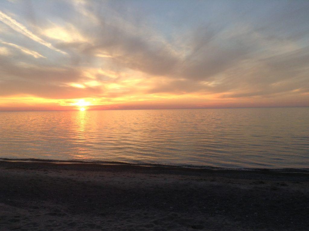 Maitland Valley Marina Beach Sunset